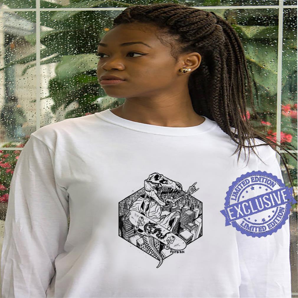 Flite Boi Skateboards TRex T. Rex Dinosaur Ink Shirt hoodie