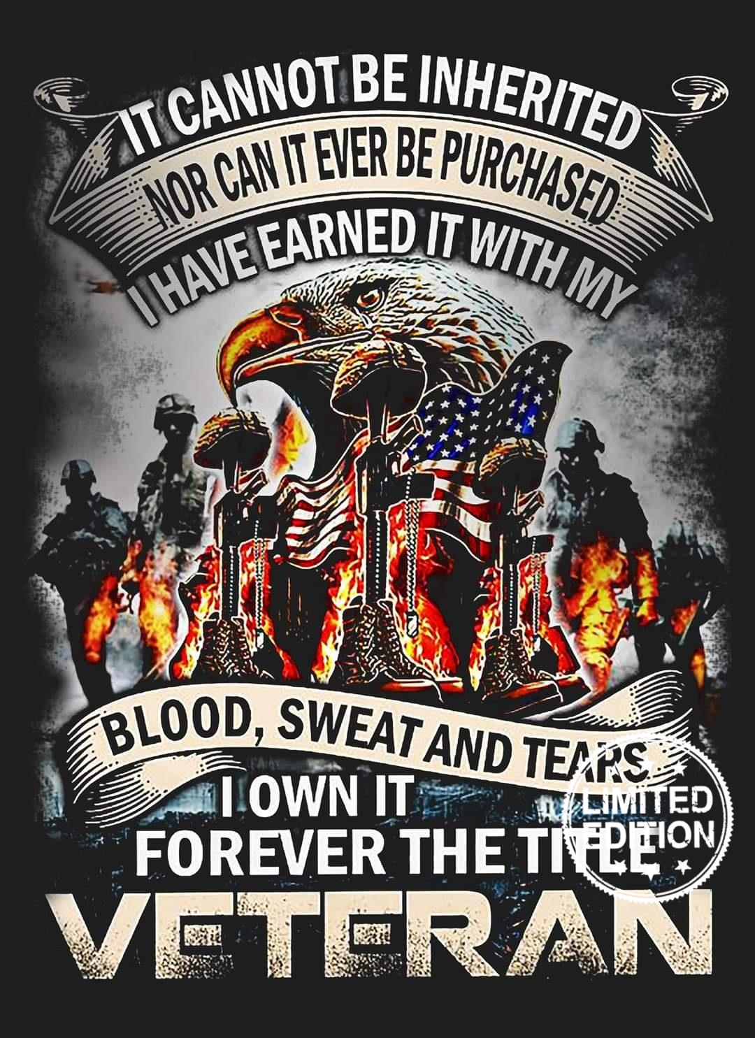 It cannot be inherited nor can it ever be purchased i have earned it with my shirt