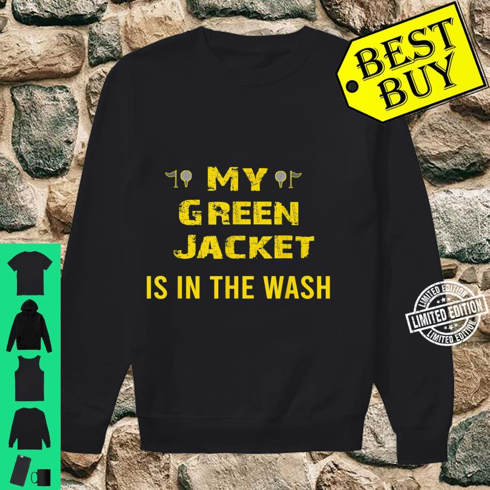 Jacket Green in the Wash Master Golf Golfer Player Shirt sweater