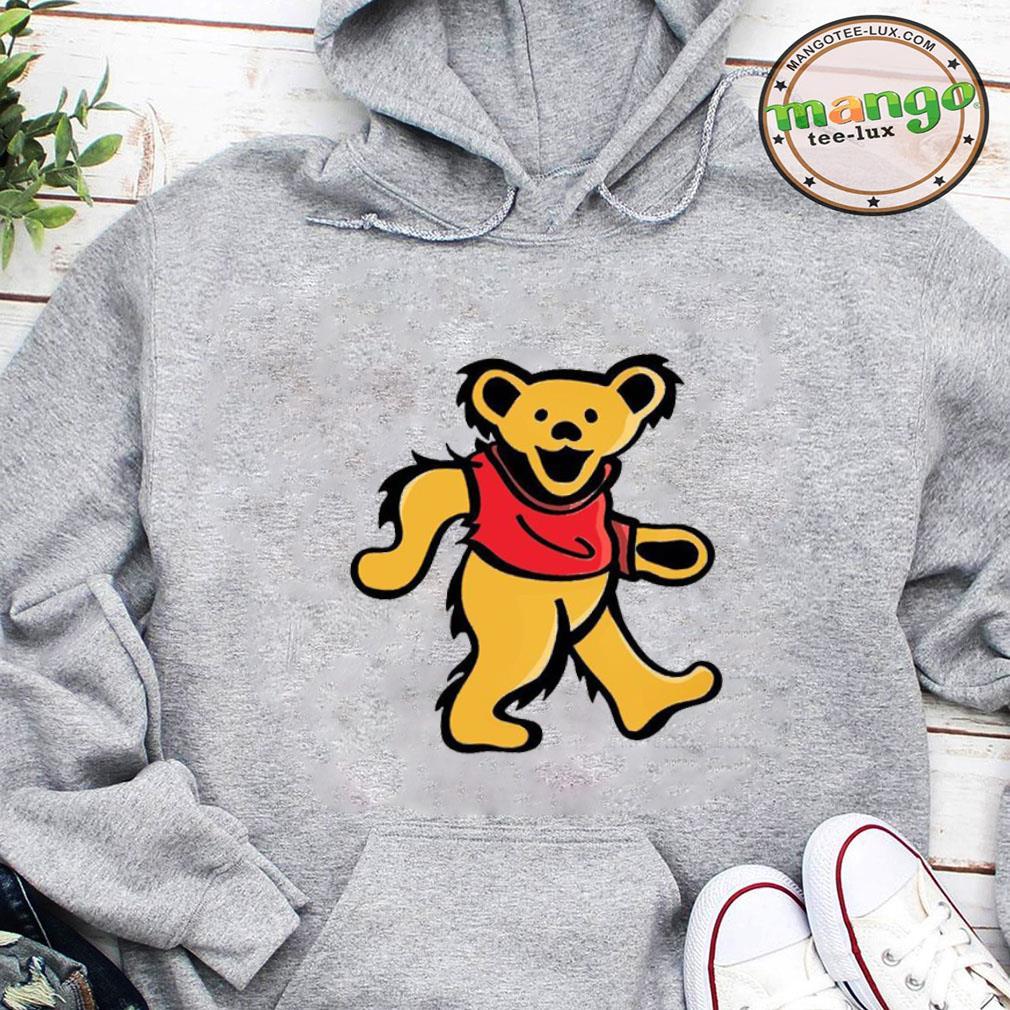WINNIE-POOH DANCING BEAR shirt hoodie
