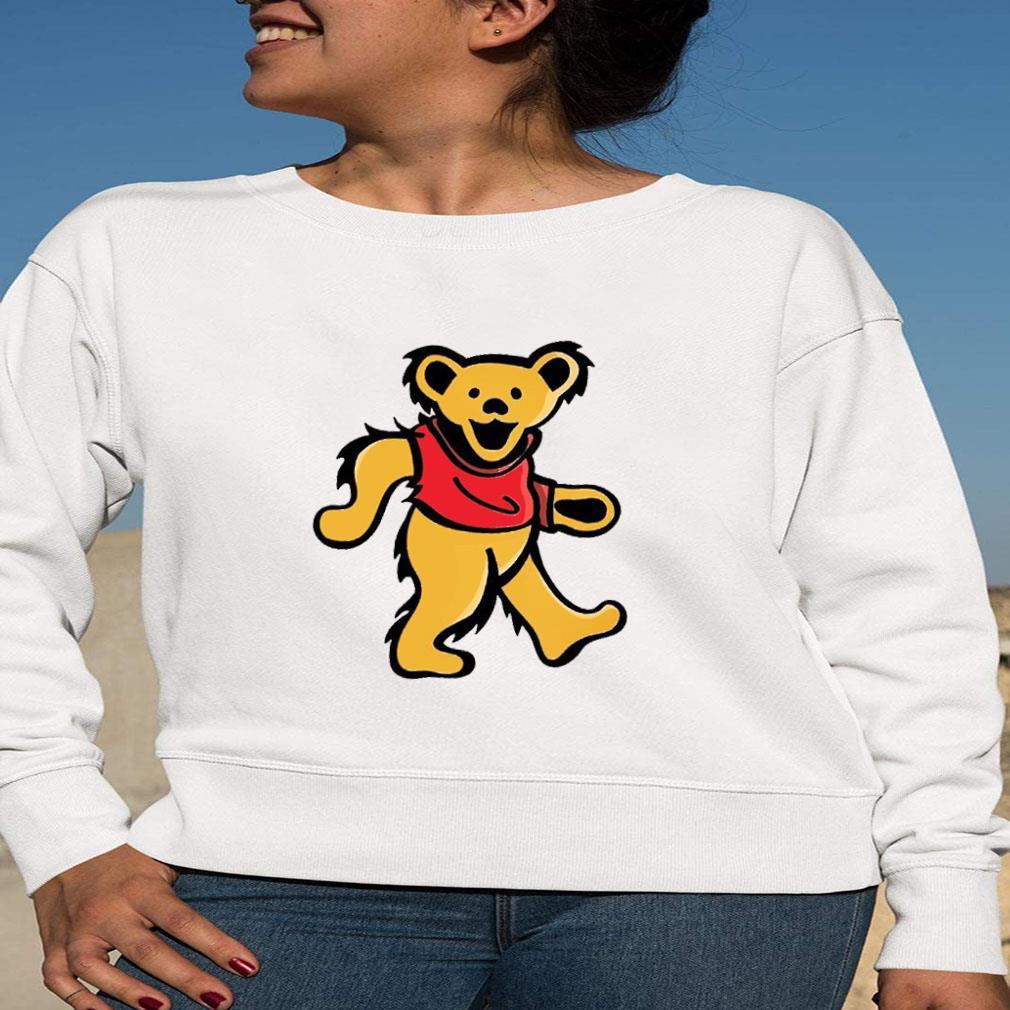 WINNIE-POOH DANCING BEAR shirt long sleeved