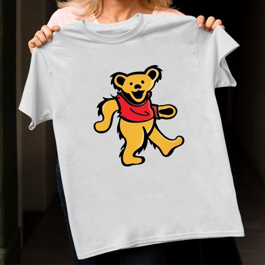 WINNIE-POOH DANCING BEAR shirt unisex