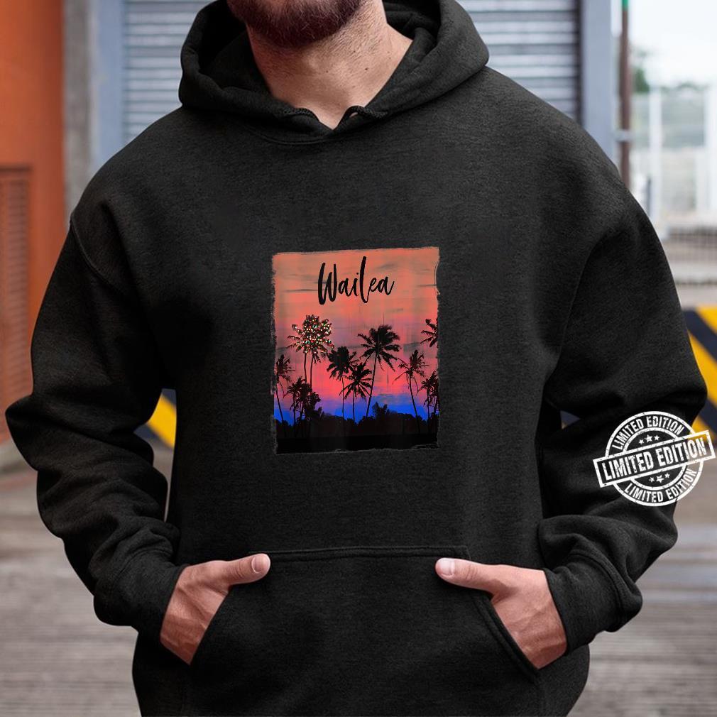 Wailea Maui Christmas Vacation Souvenir Shirt hoodie