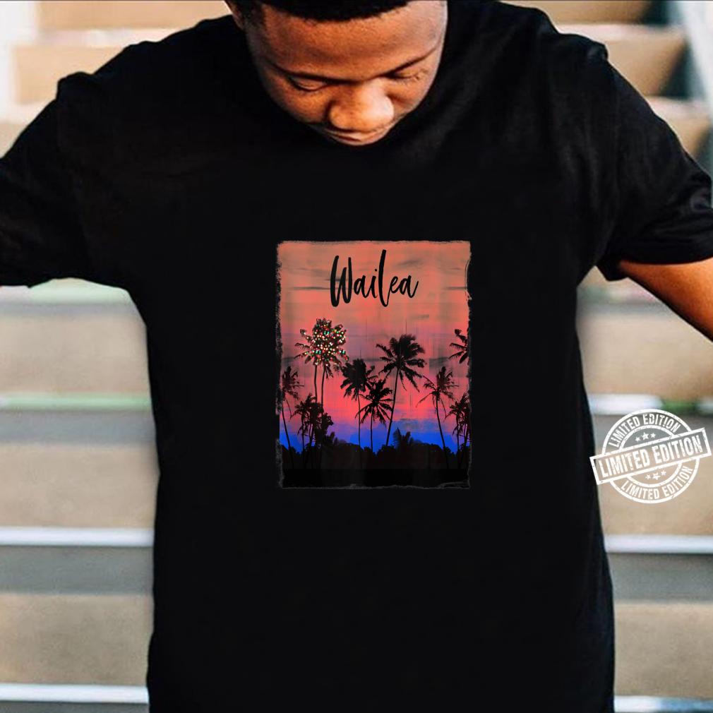 Wailea Maui Christmas Vacation Souvenir Shirt