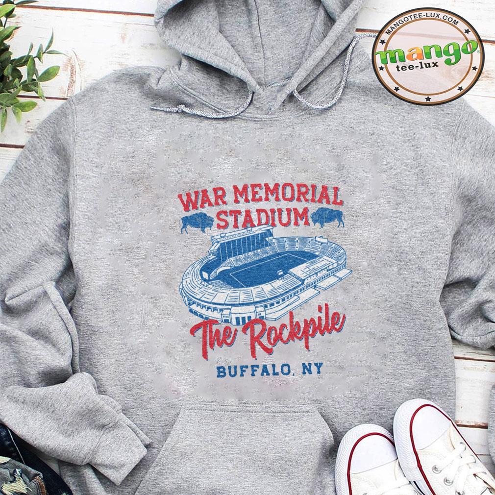 War memorial stadium the rockpile buffalo ny shirt hoodie