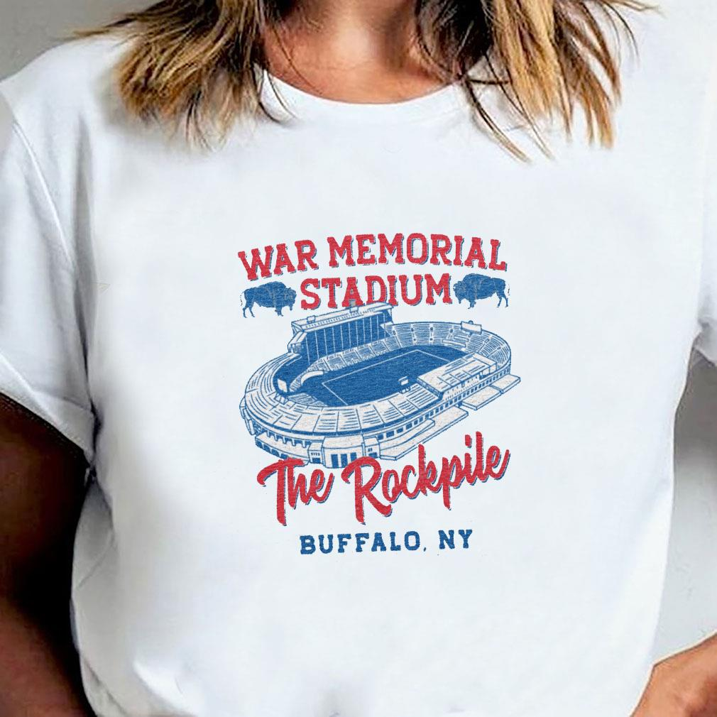 War memorial stadium the rockpile buffalo ny shirt ladies tee