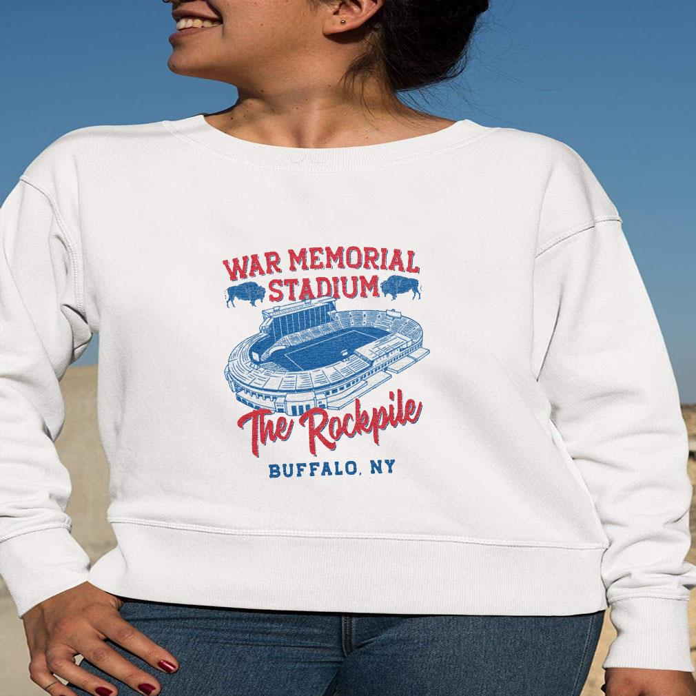 War memorial stadium the rockpile buffalo ny shirt long sleeved