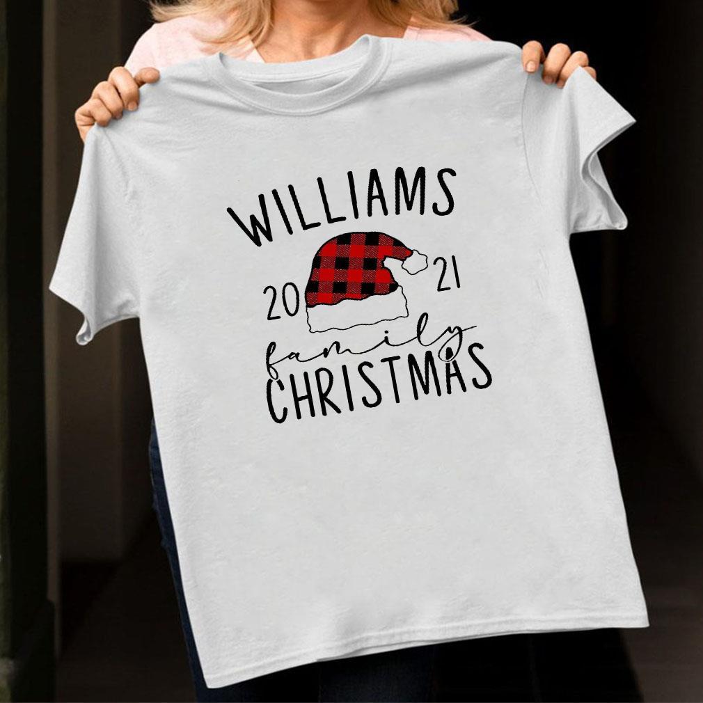 Williams 2021 family christmas shirt ladies tee