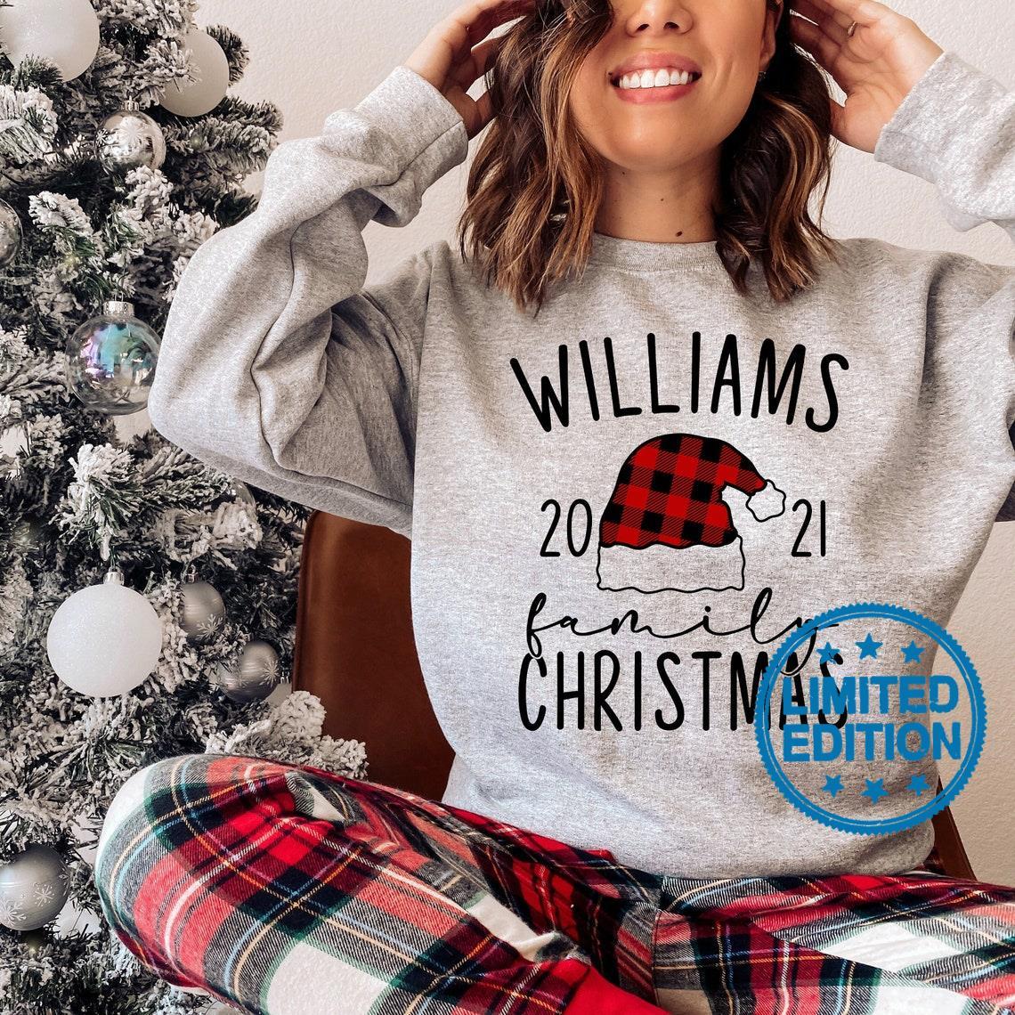 Williams 2021 family christmas shirt
