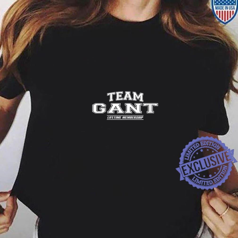 Womens Team Gant Proud Family Surname, Last Name Shirt ladies tee