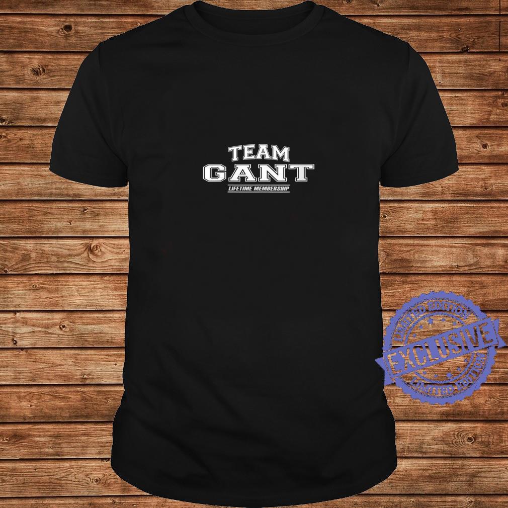 Womens Team Gant Proud Family Surname, Last Name Shirt long sleeved