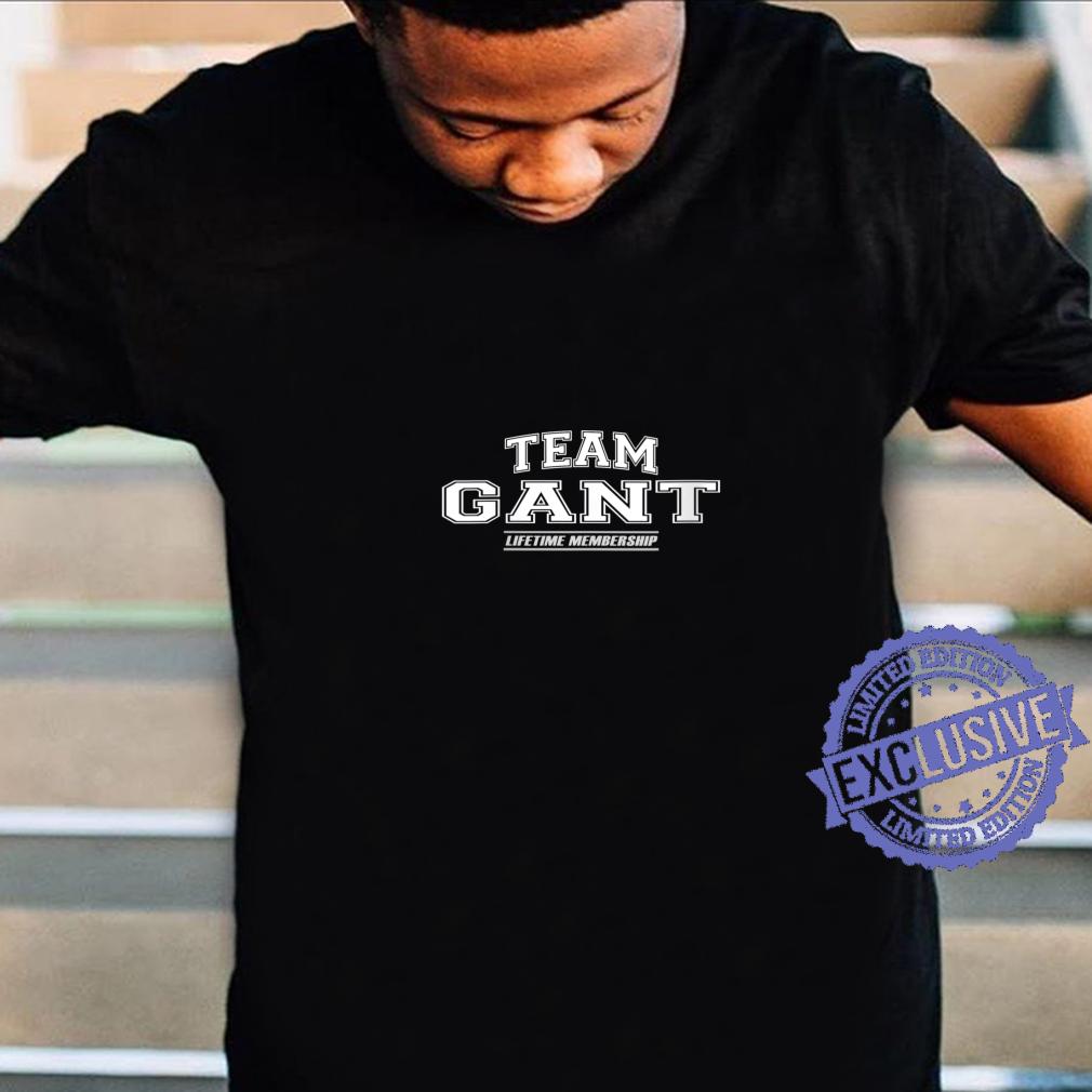 Womens Team Gant Proud Family Surname, Last Name Shirt