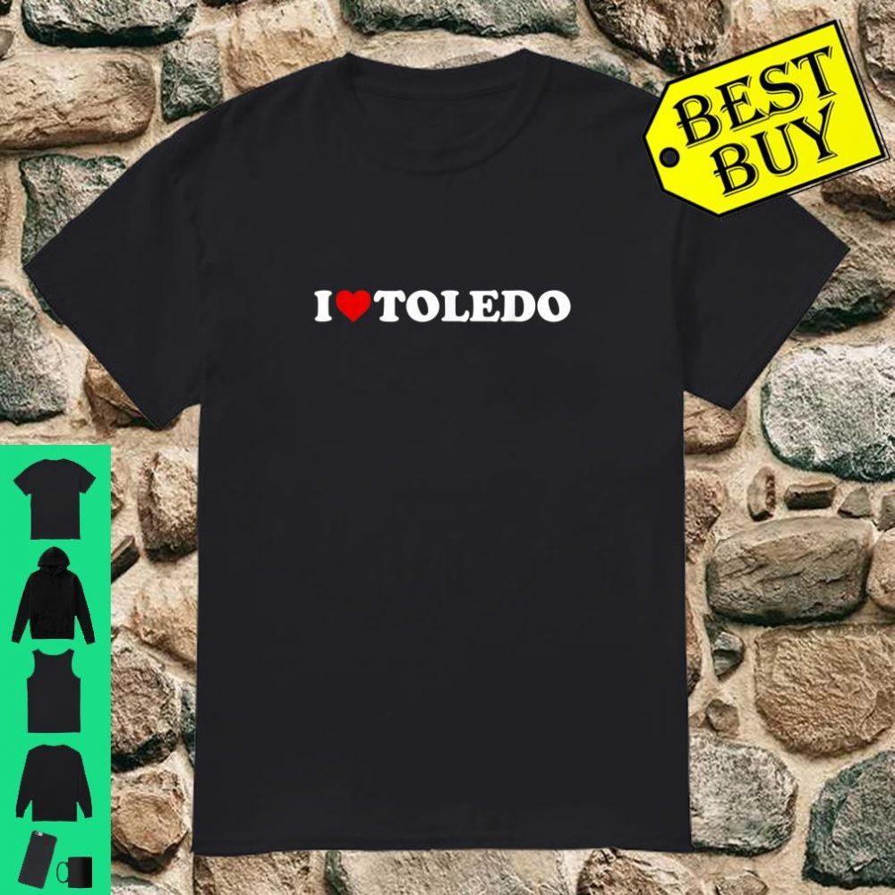 I Love Toledo - Heart shirt