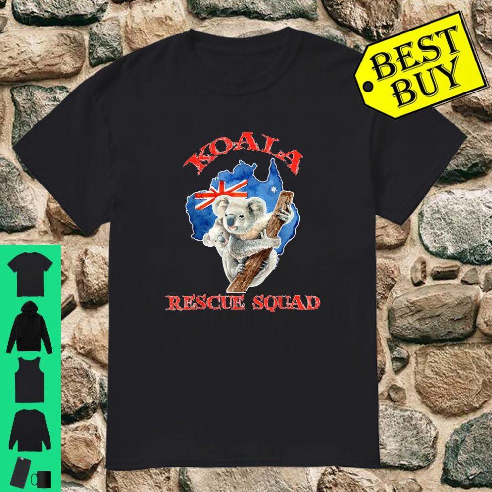 Koala Rescue Animal Lovers Endangered Australia shirt
