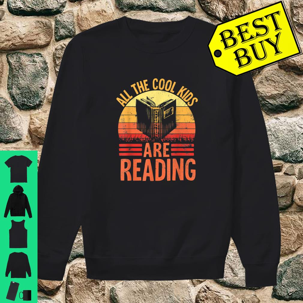 Library Club Book Lover All The Cool Kids Are Reading shirt