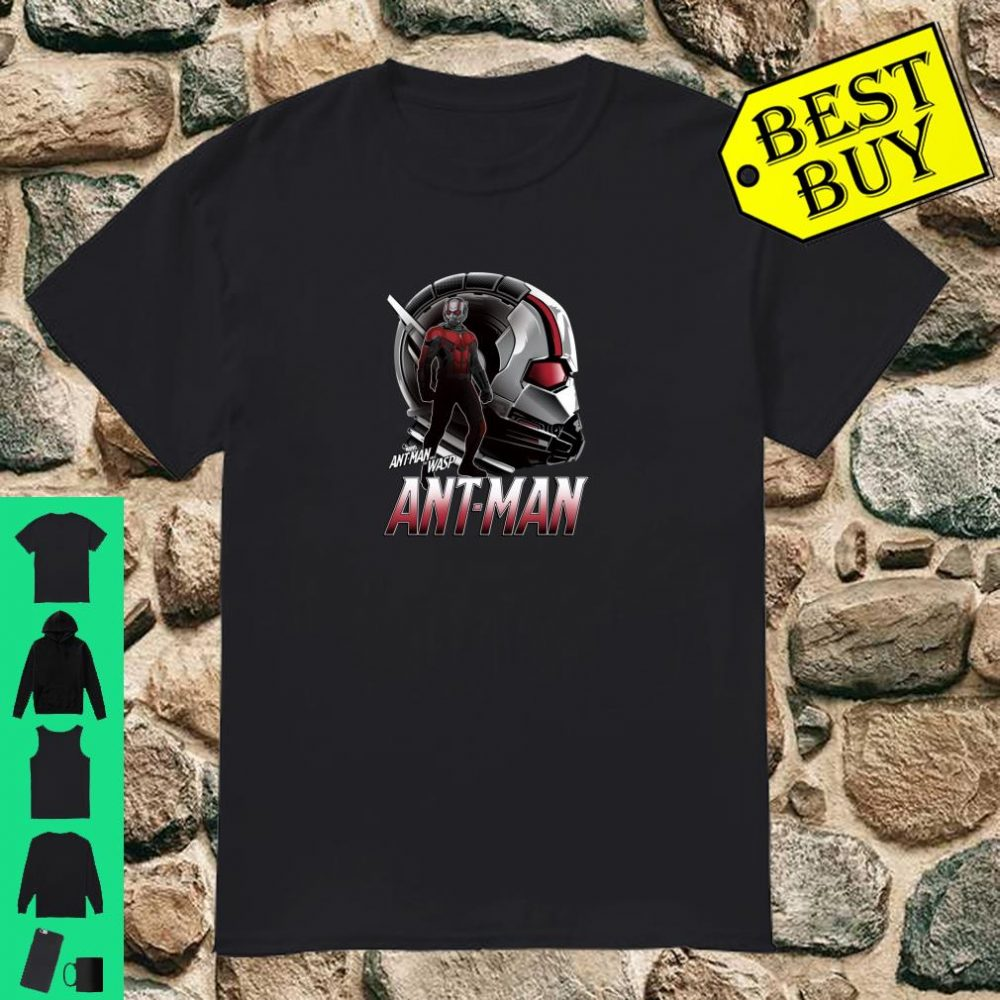Marvel Ant-Man And The Wasp Ant-Man Helmet Collage shirt