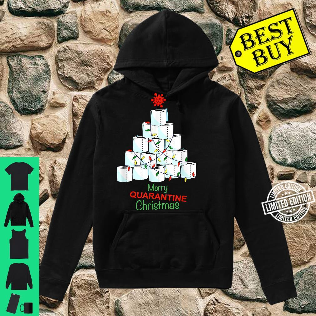 Merry Christmas Christmas Tree With Toilet Papers Shirt hoodie