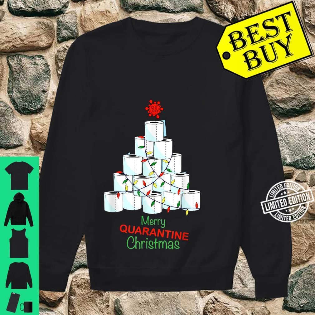 Merry Christmas Christmas Tree With Toilet Papers Shirt sweater