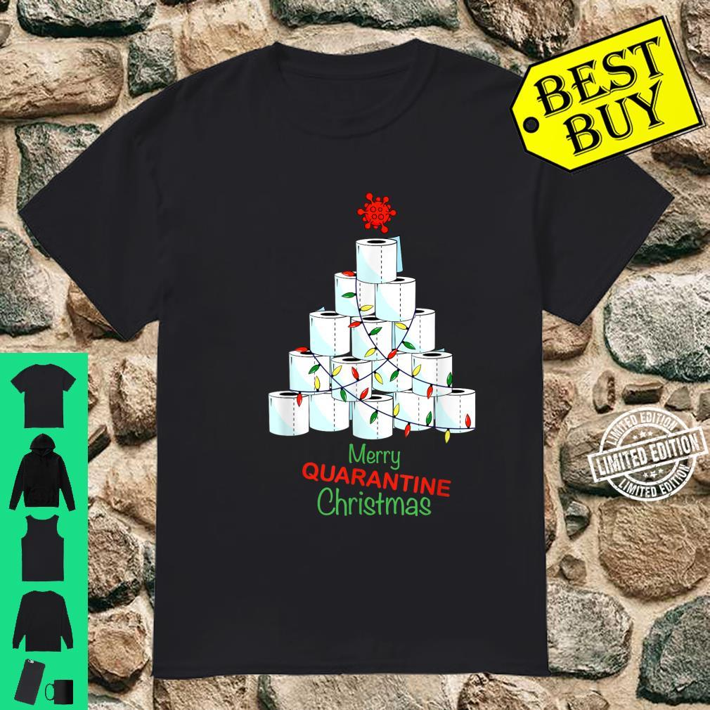 Merry Christmas Christmas Tree With Toilet Papers Shirt