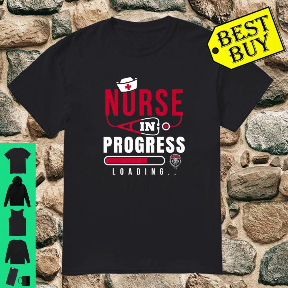 New Mexico Lobos Nurse Nurse In Progress Loading shirt