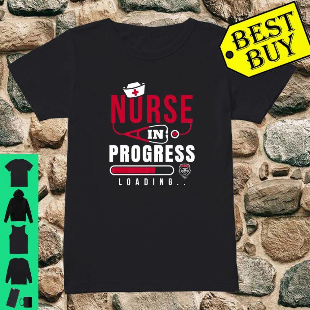 New Mexico Lobos Nurse Nurse In Progress Loading shirt ladies tee