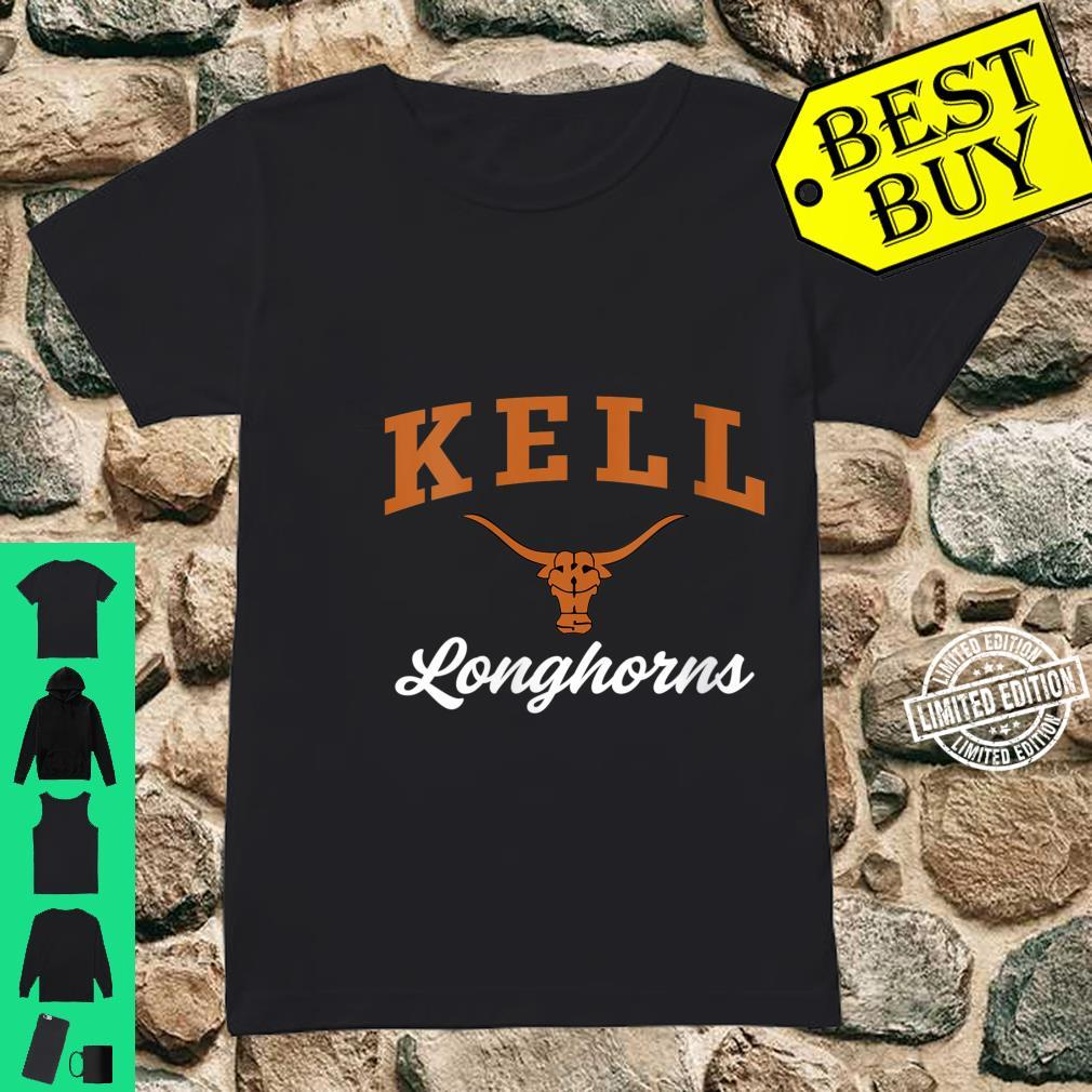 Womens Kell High School Longhorns Shirt ladies tee